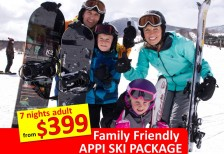 Family Friendly Appi Ski Package - Villa 3